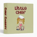 Personalized Recipe Books Cute Kids binders