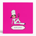 Personalized Recipe Journal with Illustration Binder