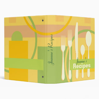 Personalized Recipes Binder