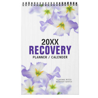 PERSONALIZED Recovery Quote Progress Gift Planner Calendar