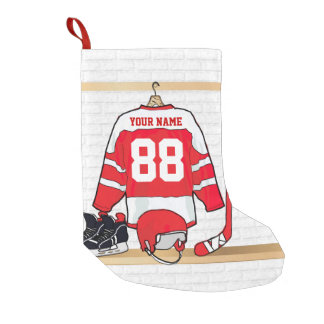 Ice Hockey Christmas Stockings & Ice Hockey Xmas Stocking Designs ...