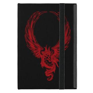 Personalized Red Dragon Ryuu iPad Mini Case
