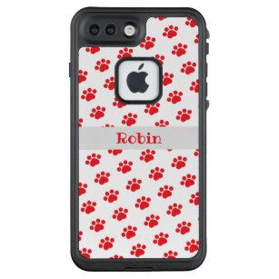 lifeproof case iphone 8 plus red