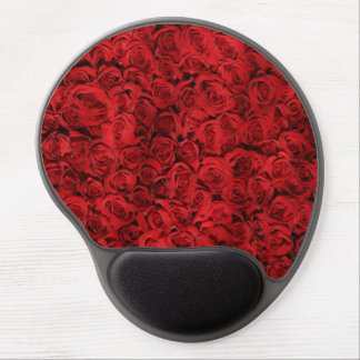 Personalized Red Roses girly Gel Mouse Pad