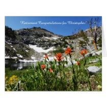 Personalized Retirement Congratulations, Jumbo Card