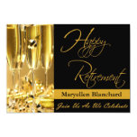 Personalized Retirement Party Invitation