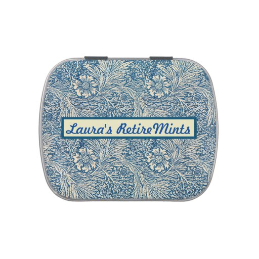 Personalized RetireMints Candy Tin