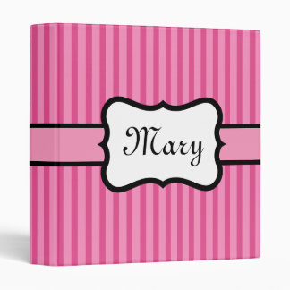 Personalized Retro Binder