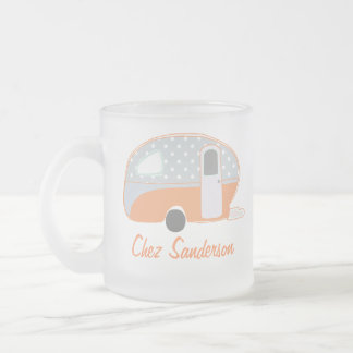 Personalized Retro Caravan Art Mugs
