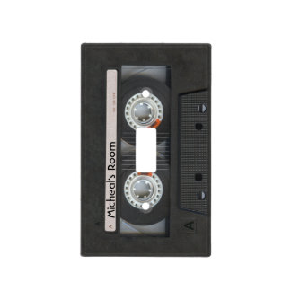 Personalized Retro Cassette Mix-Tape Light Switch Cover