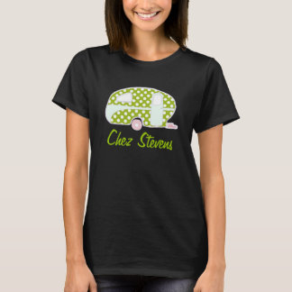 Personalized Retro Design Caravan Owners T Shirt