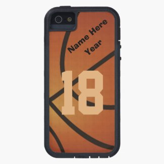Personalized Basketball iPhone 5 Case
