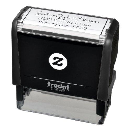 Personalized Return Address Self Ink Stamp