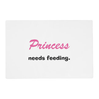 Personalized Reversible Feeding Pet Placemat Laminated Placemat