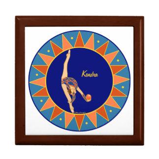 Personalized Rhythmic Gymnastic Jewelry Box