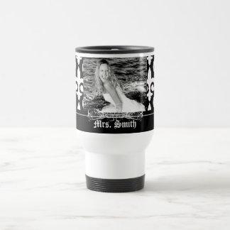 Personalized Rich & Bold Fleur-de-lis Mug