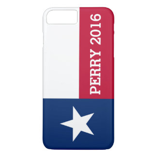 Personalized Rick Perry 2016 Flag of Texas iPhone 8 Plus/7 Plus Case