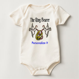 Personalized Ring Bearer Gifts Baby Bodysuit