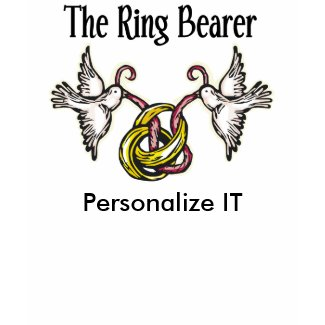 Personalized Ring Bearer shirt