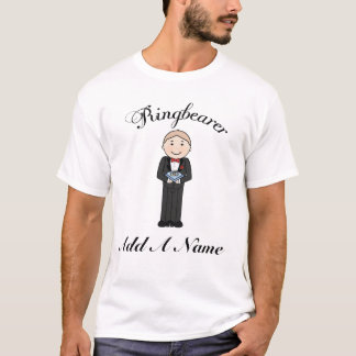 Personalized Ringbearer Kids Tee Shirt