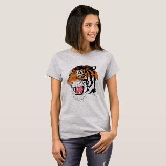 Personalized \\ Roaring Tiger T-Shirt