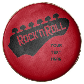 Personalized Rock and Roll Guitar Oreo Cookies Chocolate Covered Oreo