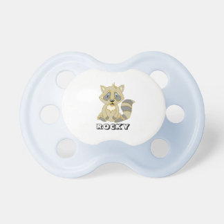Personalized Rocky Raccoon Pacifier