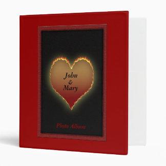 Personalized Romance Photo Album Binder