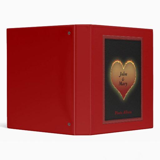 Personalized Romance Photo Album Vinyl Binders