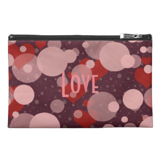 Personalized Romantic Red Hearts Patterned Bag