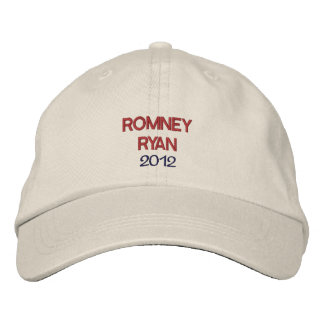 Personalized Romney Ryan Embroidered Hat