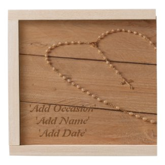 Personalized Rosary Box Add Name, Occasion