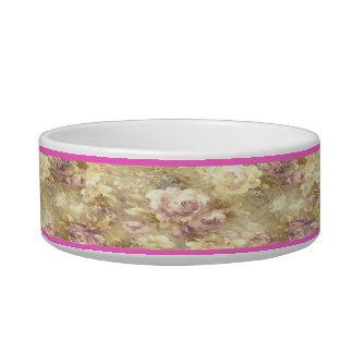 Personalized Rose Garden Pet Bowl