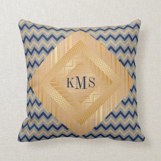 Personalized Royal Monogram Pillow