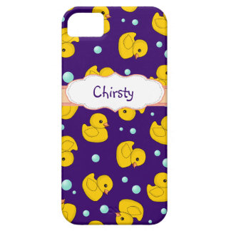 Personalized Rubber Duckie iphone 5 case