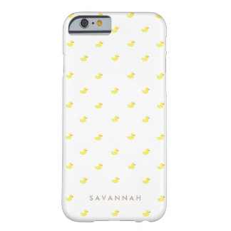 Personalized | Rubber Duckies Barely There iPhone 6 Case