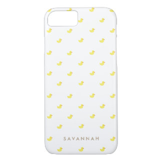 Personalized | Rubber Duckies iPhone 8/7 Case