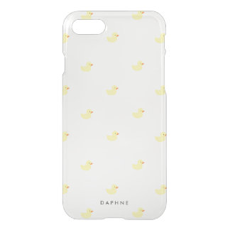 Personalized Rubber Ducky iPhone 7 Case