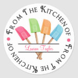 Personalized Rubber Spatula Baking  Stickers