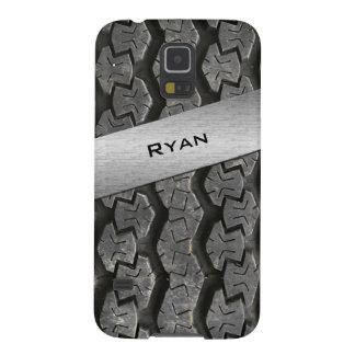 Personalized Rubber Tire Treads Galaxy S5 Case