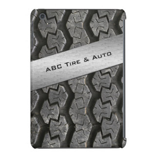 Personalized Rubber Tire Treads iPad Mini Case