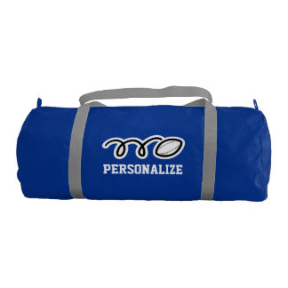 Personalized rugby bag for player and sports coach