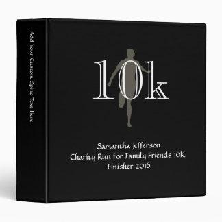Personalized Runner 10k Cross-Country Keepsake Binder