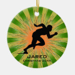 Personalized Runner Ornament