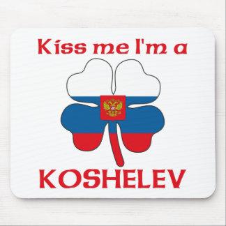 Personalized Russian Kiss Me I'm Koshelev Mouse Pad