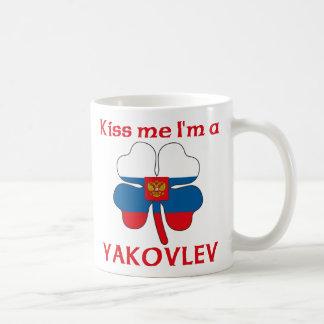 Personalized Russian Kiss Me I'm Yakovlev Classic White Coffee Mug