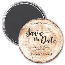 20 Custom Magnets MG57 Wooden Save the date Magnet Rustic Save the Date Magnet Wood Custom Engraved Wood Magnets Rustic Save The Dates