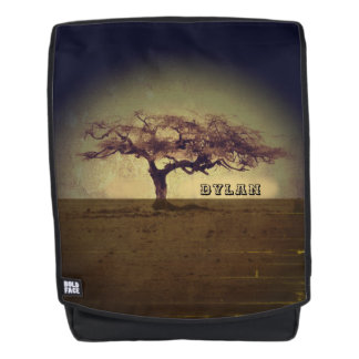 Personalized Rustic Tree Backpack