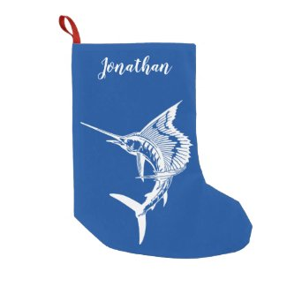 Personalized Sailfish Stocking