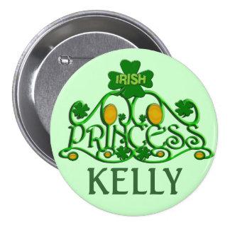 Personalized Saint Patrick's Day Irish Button